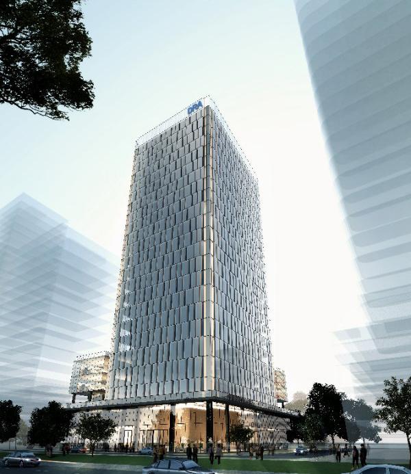 KOK工程   中标深圳数字音频大厦幕墙项目