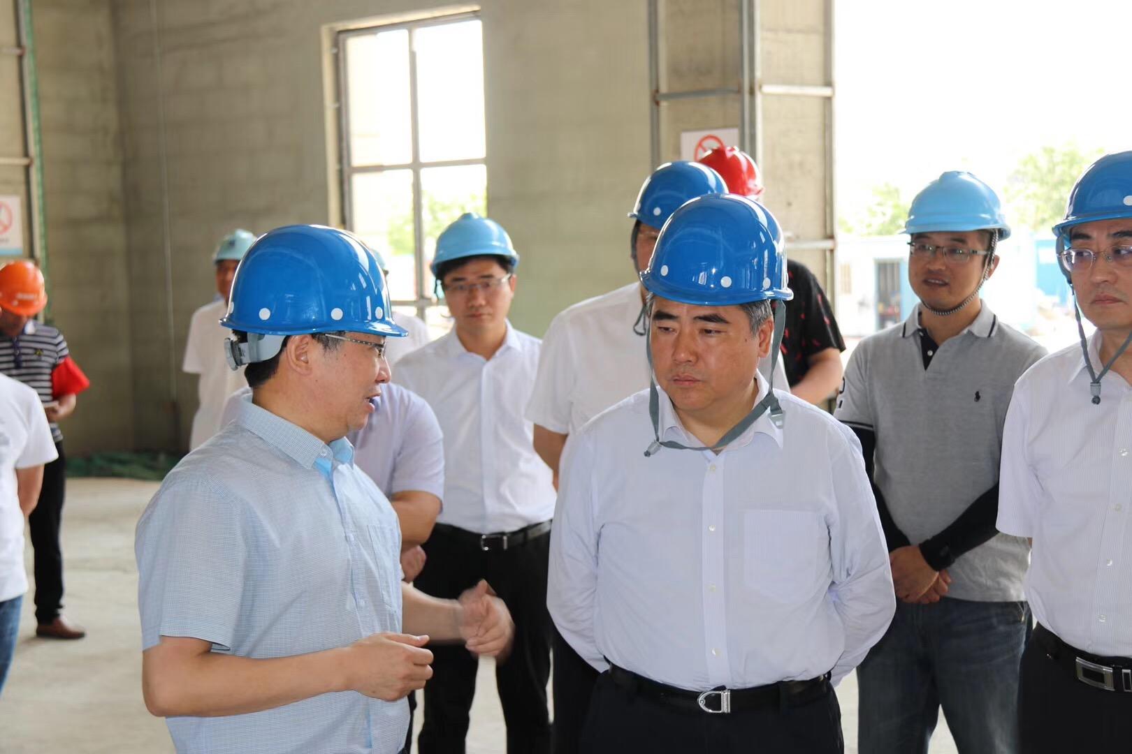精心打造政府工程,连云港市委书记项雪龙视察KOK康复医院项目